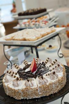 Free Chocolate Cake Royalty Free Stock Photography - 15002297