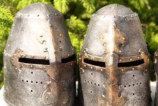 Free Helmets Royalty Free Stock Image - 15002316