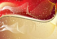 Free Abstract Golden Wave Background Royalty Free Stock Image - 15002506