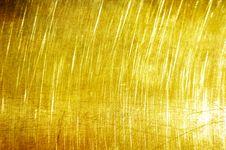 Golden Grunge Texture. Royalty Free Stock Photo