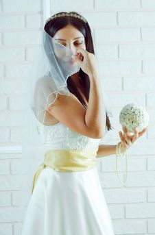 Free Young Bride Stock Photo - 15002850