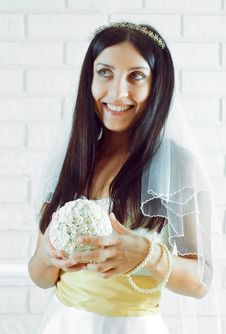 Free Young Bride Stock Image - 15002851