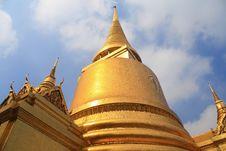 Free Thai Pagoda Royalty Free Stock Image - 15002916