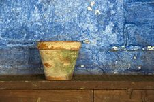 Old Plant Pot Stock Images