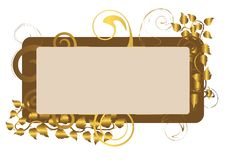 Gift Card. Vector Illustration. Stock Image