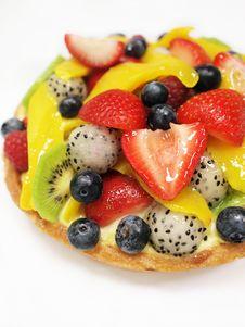 Free Mixed Fruits Tart Stock Photos - 15003623