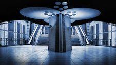 Free Symmetrical Pillar Of Light Stock Photography - 15004222