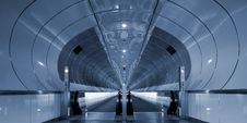 Free Symmetrical Rings In Subway Tunnel Stock Photo - 15004250