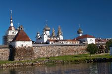 Free Solovetsky Monastery Royalty Free Stock Photography - 15004357