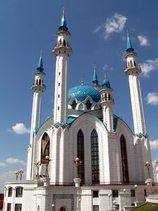 Free Kul Sharif Mosque, Kazan. Royalty Free Stock Photography - 15005477