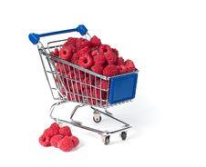 Free Metal Shopping Trolley Stock Photos - 15005693