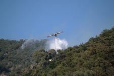 Free Canadair Plane To Fire Stock Photos - 15005943