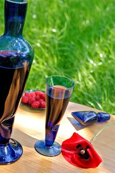 Free Raspberry Fortified Wine Royalty Free Stock Images - 15006099