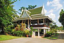 Thai House Stock Photo