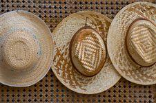 Free Thai Hats Royalty Free Stock Image - 15006436
