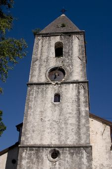 Free Old Church Tower Stock Photo - 15006460