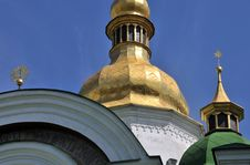 Free Church In  Kiev Detail Royalty Free Stock Image - 15006756