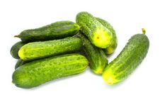 Free Fresh Cucumbers Royalty Free Stock Photography - 15006777