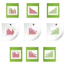Business Statistics. Vector Illustration Royalty Free Stock Photo