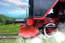 Free Old Steam Locomotive Royalty Free Stock Image - 15006946