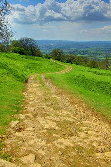 Free Countryside Trail, The Cotswolds, United Kingdom Royalty Free Stock Photo - 15007345