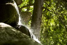 Free Close Up View Of The Little Waterfall Stock Photos - 15007433