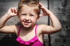 Free Happy Girl Royalty Free Stock Photo - 15007485