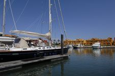 Free Rocha Beach Marina Stock Photos - 15007993
