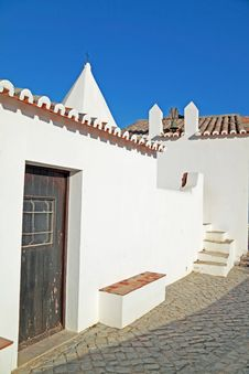 Typical Algarve Houses Royalty Free Stock Photos