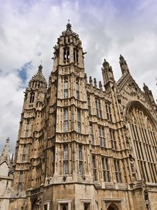 Westmister Houses Of Parliamentlondon Royalty Free Stock Images