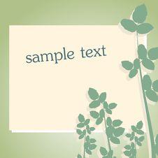 Free Floral Frame Stock Image - 15009911