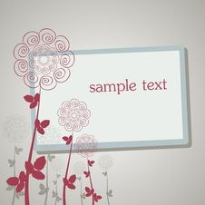 Free Floral Frame Stock Photography - 15009932