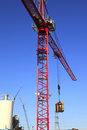 Free Heavy Duty Cranes On Worksites. Stock Images - 15010474