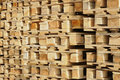Free Wooden Euro Pallets Royalty Free Stock Photos - 15011608