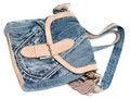 Free Feminine Jeans Bag Royalty Free Stock Photo - 15013165