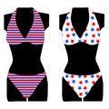 Free Bikini Set On Mannequin Dummy Stock Photos - 15013943