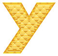 Free The Alphabet Letter Y Royalty Free Stock Photography - 15018257