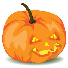 Free Halloween Pumpkin Royalty Free Stock Photos - 15010598