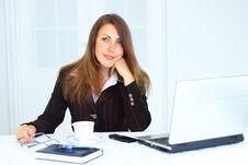 Free Business Woman Stock Image - 15010911
