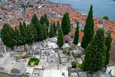 Free Sibenik Cementery In Croatia Stock Photography - 15011162