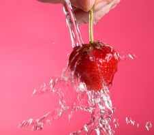 Free Fresh Strawberry Royalty Free Stock Image - 15011186