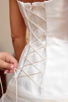 Free Wedding Dress Detail Stock Photos - 15011443