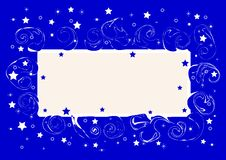 Free Card With  Stars. Vector Illustration. Stock Photography - 15011522