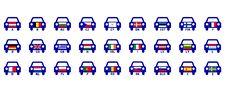 Free European Countries Auto Indicatives Royalty Free Stock Photo - 15011555