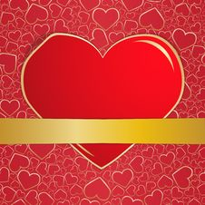 Invitation Card On Wedding Royalty Free Stock Photos