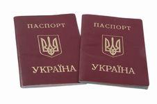 Two Passport . Stock Photos