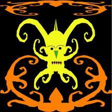 Free Orang Ulu Motif Design Stock Photo - 15012520