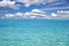 Picturesque Sea Landscape Stock Photo