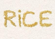 Free Long Grain Rice Stock Photos - 15012763