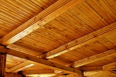 Free Wooden Roof Structure Royalty Free Stock Images - 15014599